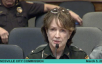 Sheriff Darnell addresses the City Commission